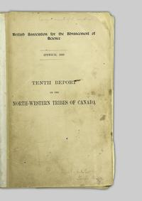 On the north-western tribes of Canada --Tenth report of the
