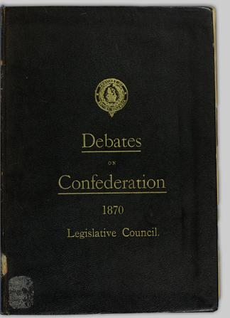 Debate on the subject of confederation with Canada