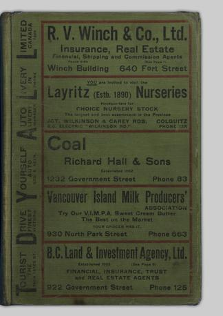 bc78c82c85 Henderson s Victoria directory. 1921 - UBC Library Open Collections