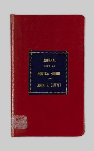 A journal kept at Nootka Sound - UBC Library Open Collections