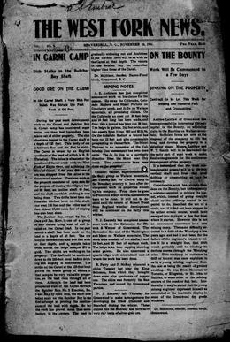 Thumbnail of West Forks News (Beaverdell)