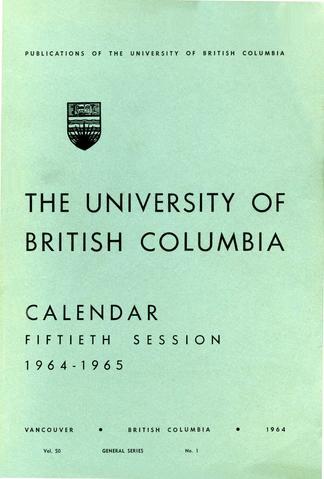 the university of british columbia calendar ubc library open