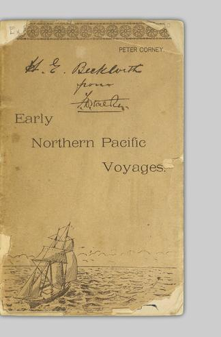 Voyages in the northern Pacific : narrative of several