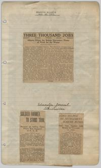 036eb04c3 Clippings book of newspaper articles relating to the Clandonald ...