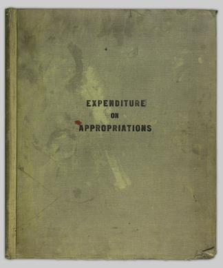 Expenditure on appropriations C P R  - UBC Library Open
