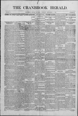 Thumbnail of Cranbrook Herald