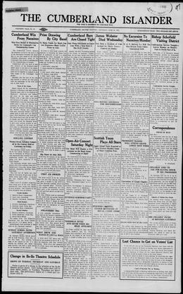 Thumbnail of Cumberland Islander