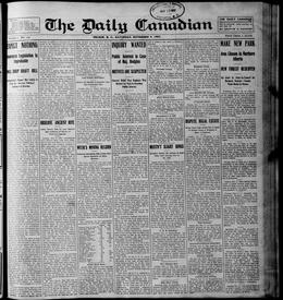Thumbnail of The Daily Canadian