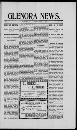 Thumbnail of Glenora News