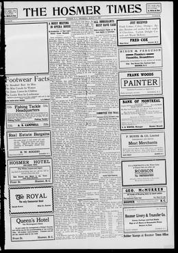 Thumbnail of The Hosmer Times