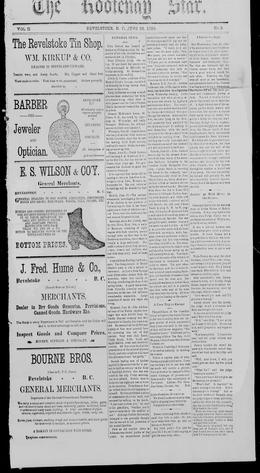Thumbnail of Kootenay Star (Revelstoke)