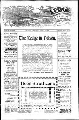 Thumbnail of The Ledge (Nelson)