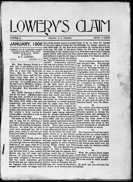 Thumbnail of Lowery's Claim