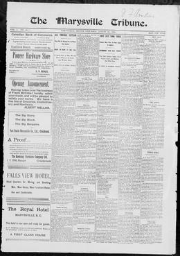 Thumbnail of The Marysville Tribune