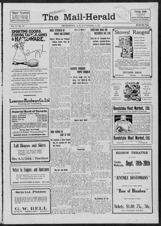The Mail Herald - UBC Library Open Collections
