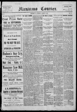 Thumbnail of The Nanaimo Courier