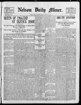 Thumbnail of Nelson Daily Miner