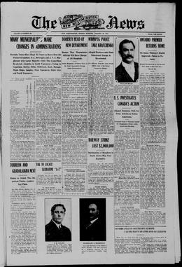 Thumbnail of New Westminster Daily News