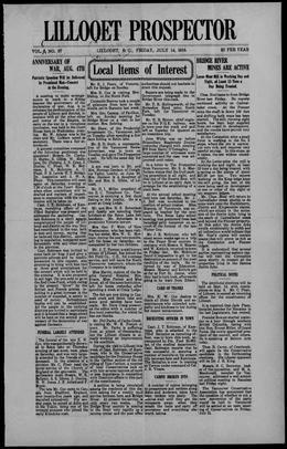 Thumbnail of Prospector (Lillooet)