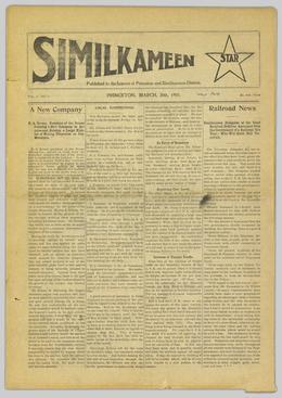 Thumbnail of Similkameen Star
