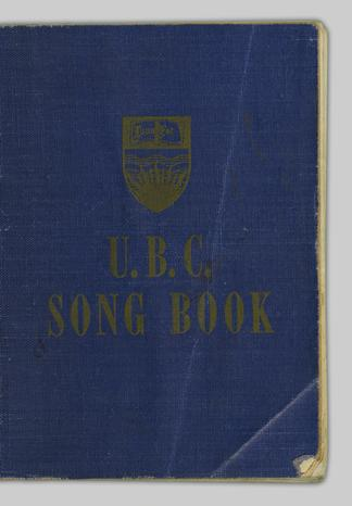 c08bd3e66d UBC Song Book - UBC Library Open Collections
