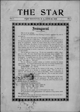 Thumbnail of The Star (Port Essington)