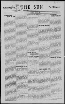 Thumbnail of The Sun (Port Essington)