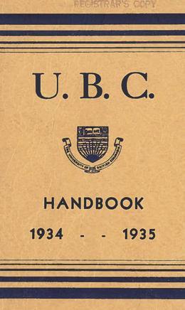 Thumbnail of UBC Student Handbooks