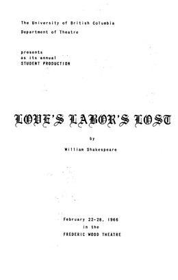 Thumbnail of UBC Theatre Programmes