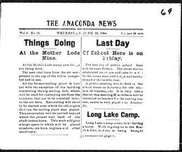 Thumbnail of The Anaconda News