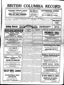 Thumbnail of British Columbia Record