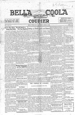Thumbnail of Bella Coola Courier