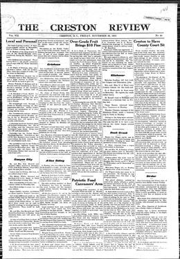 Thumbnail of The Creston Review