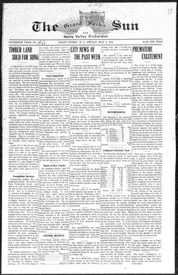 Thumbnail of The Grand Forks Sun