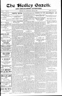 Thumbnail of The Hedley Gazette