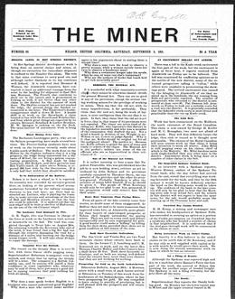 Thumbnail of The Miner (Nelson)