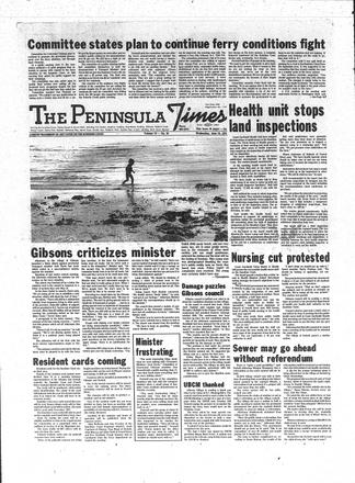 The Peninsula Times - UBC Library Open Collections