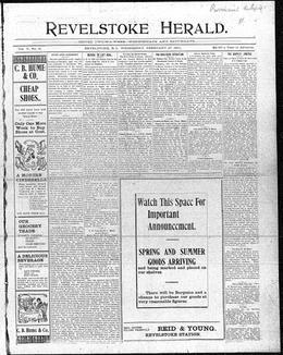 Thumbnail of Revelstoke Herald